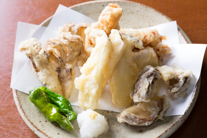 キノコの天ぷら盛り合わせ